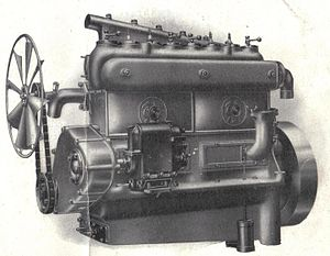 Vauxhall A-Type - Early 16-20 engine