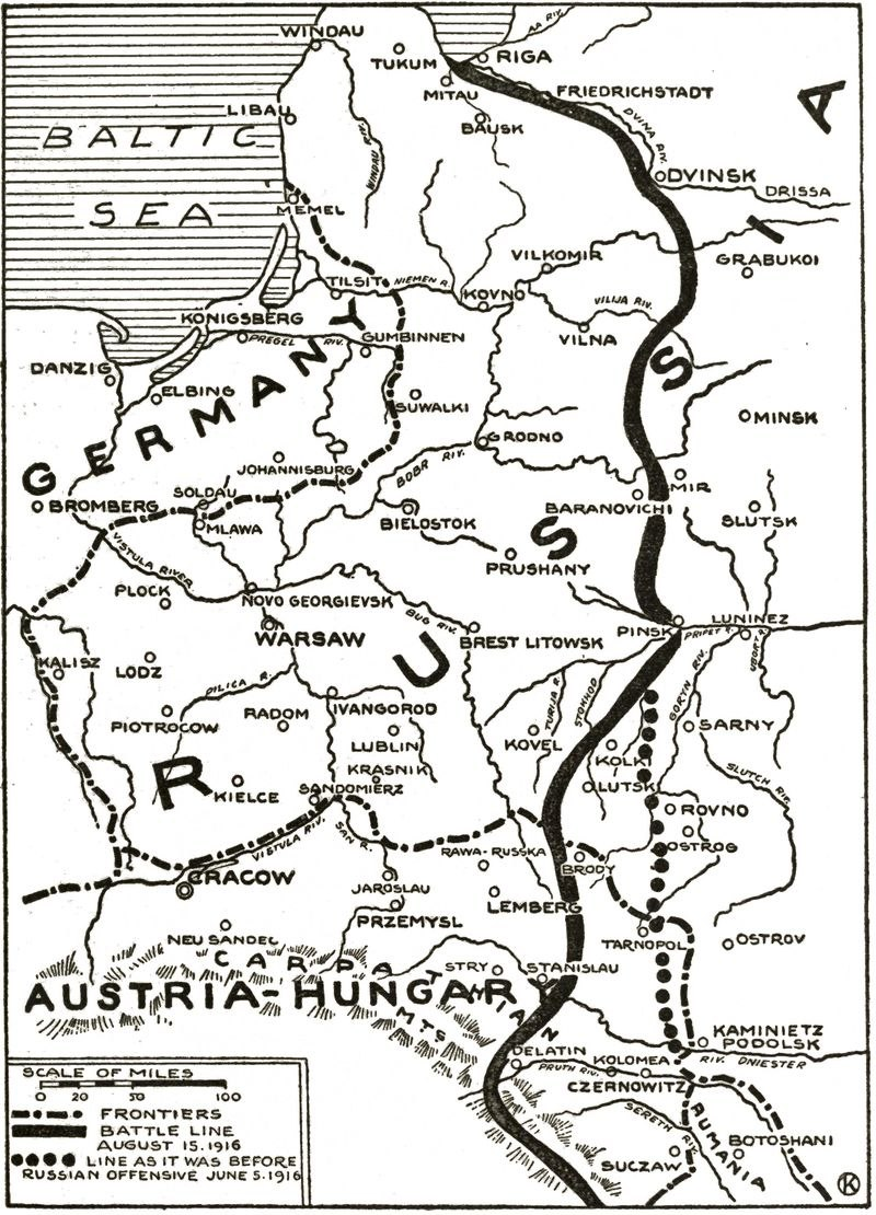 Eastern Front 1916-8