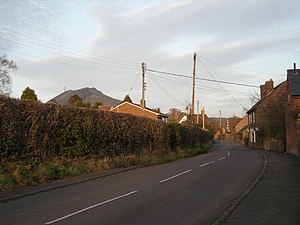 Eaton Constantine - Image: Eaton Constantine with The Wrekin nearby. geograph.org.uk 711868