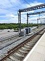 Ebbsfleet International railway station third rail starts 5177.jpg