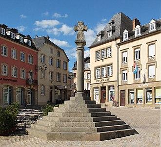 Echternach - Image: Echternach justizkreuz