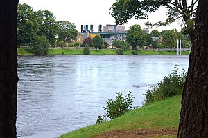 River Ness - River Ness and Eden Court Theatre
