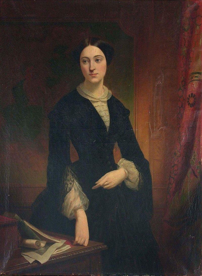 Edouard Louis Dubufe - Portret Izabelli Działyńskiej.jpg