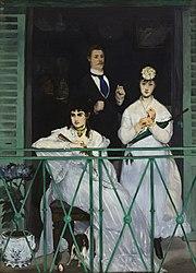 إدوارد مانيه: The Balcony