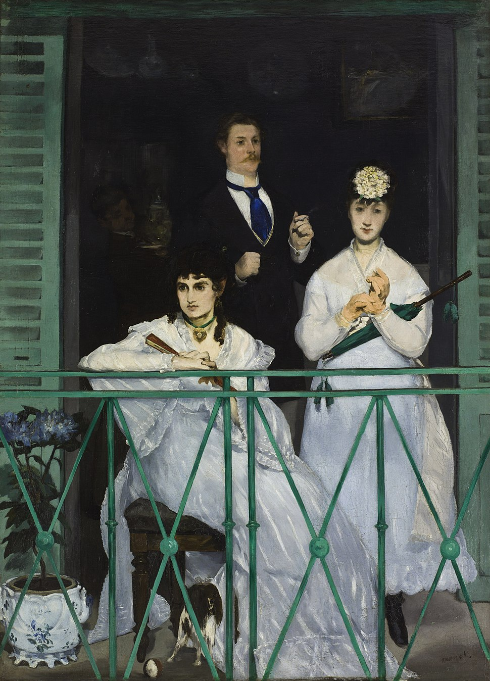 Edouard Manet - The Balcony - Google Art Project