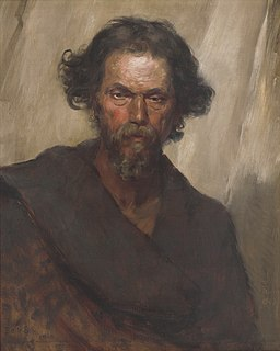 Eduard Ballo - Roman Vagrant - O 604 - Slovak National Gallery