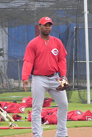 Edwin Encarnación - Encarnación with the Cincinnati Reds