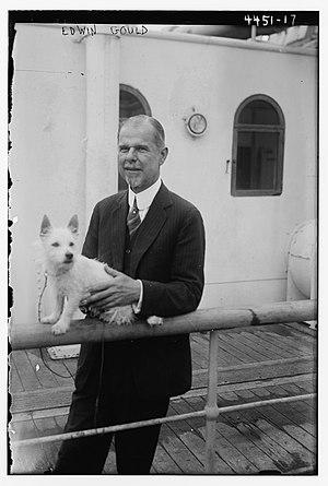 Edwin Gould Sr. - Gould in 1918