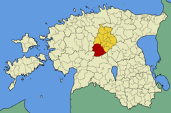 Türi Parish within Järva County.