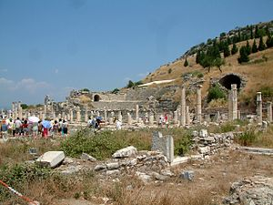 Heraclitus - Ephesus on the coast of Asia Minor, birthplace of Heraclitus