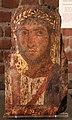 Egitto romano, ritratto funebre di un militare romao, forse da el-hibeh, II secolo.jpg