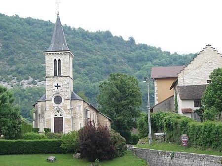 Église Saint-Maurice d'Izieu