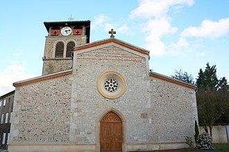 Boisset-lès-Montrond - Church of Saint-Blaise