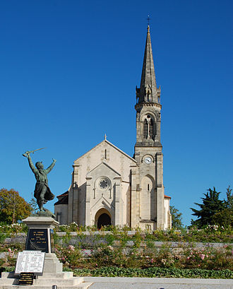 Eysines - Image: Eglise d'Eysines