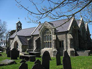 St Cadwaladrs Church, Llangadwaladr church in Llangadwaladr, Anglesey, Wales