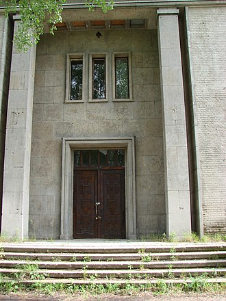 Krampnitz - Entrance into the officers' mess