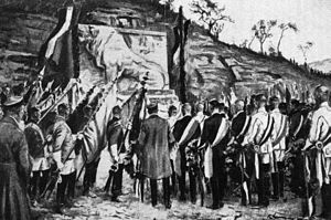 Kösener Senioren-Convents-Verband - Inauguration of the memorial for the fallen corps students in World War I