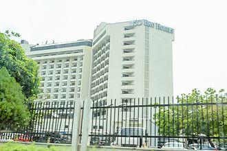 Eko Hotels and Suites - Image: Eko Hotels & Suites Building