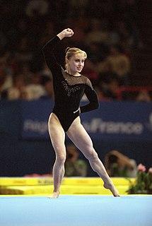 Elena Zamolodchikova Russian artistic gymnast