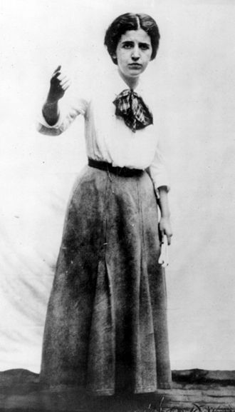 Free speech fights - Elizabeth Gurley Flynn, firebrand soapboxer of the Industrial Workers of the World