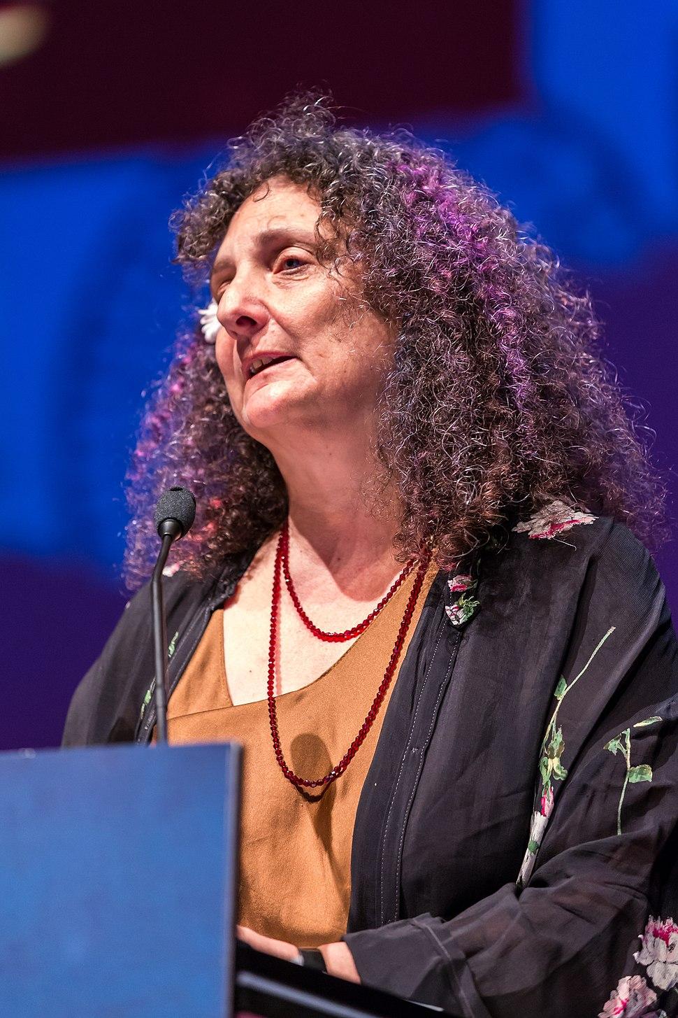 Ellen Datlow, at the Hugo Awards Ceremony, Worldcon, Helsinki