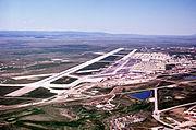 Ellsworth AFB aerial view