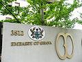 Embassy of ghana sign2 2011.JPG