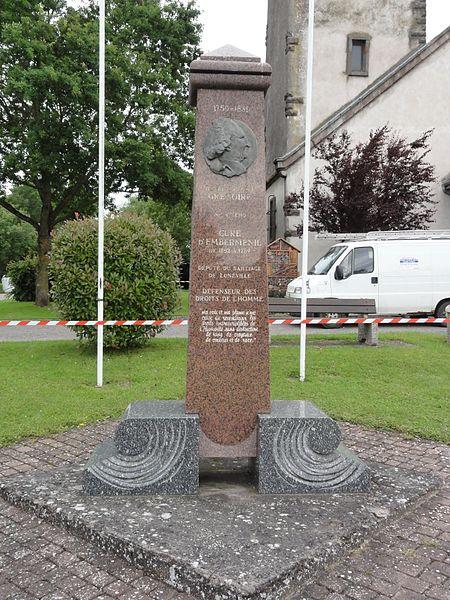 Emberménil (M-et-M) mémorial Abbé Grégoire