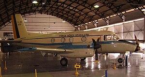 Embraer EMB 110 Bandeirante - YC-95 first prototype (EMB-100) in Aerospace Museum, Rio de Janeiro