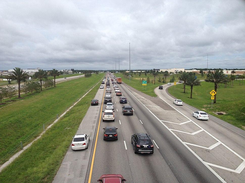 Emergency shoulder use Interstate 4 before Hurricane Irma 3