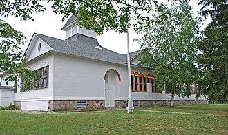 National Register of Historic Places listings in Leelanau County, Michigan - Image: Empire School Empire MI