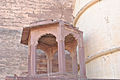 Empty Temple infront of Meherangarh fort 01.jpg