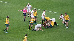 2015 Rugby World Cup Pool A - Image: England vs Australia 2015 RWC (6)