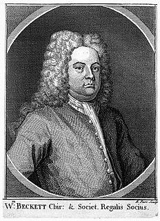 William Becket surgeon and antiquary