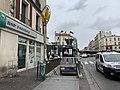 Entrée Station Métro Aubervilliers Pantin Quatre Chemins Aubervilliers 3.jpg