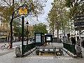 Entrée Station Métro Jacques Bonsergent Paris 1.jpg