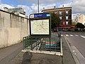 Entrée Station Métro Pierre Marie Curie Ivry Seine 7.jpg