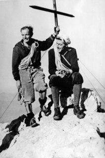 Ernst Reiss Swiss mountaineer (1920-2010)