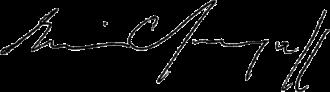 Erwin Chargaff - Image: Erwin Chargaff signature