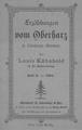 Erzählungen vom Oberharz in Oberharzer Mundart von Louis Kühnhold – Heft 8.pdf