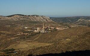 Cuencas Mineras - View of Escucha in Cuencas Mineras