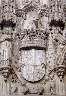 Escudo de los reyes cat licos wikipedia la enciclopedia for Pisos el encinar de los reyes