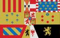 Estandarte real de España, Casa de Borbón (1761-1931).png