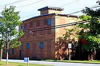 Eureka Manufacturing Co. Cotton Mill (front view), Lincolnton, NC.jpg
