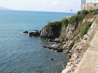 Talamone - View of the Tyrrhenian Sea