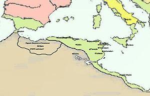 Kingdom of Altava - The Kingdom of Altava (533-698).