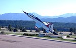 Exhibit Plane at the United States Air Force Academy - panoramio.jpg