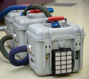 Sokol space suit - Sokol portable ventilation units