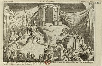 "Dechristianization of France during the French Revolution - Fête de la Raison (""Festival of Reason""), Notre Dame, Paris, 10 November 1793"