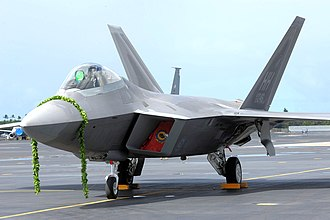 Joint Base Pearl Harbor–Hickam - Image: F 22 Hickam AFB